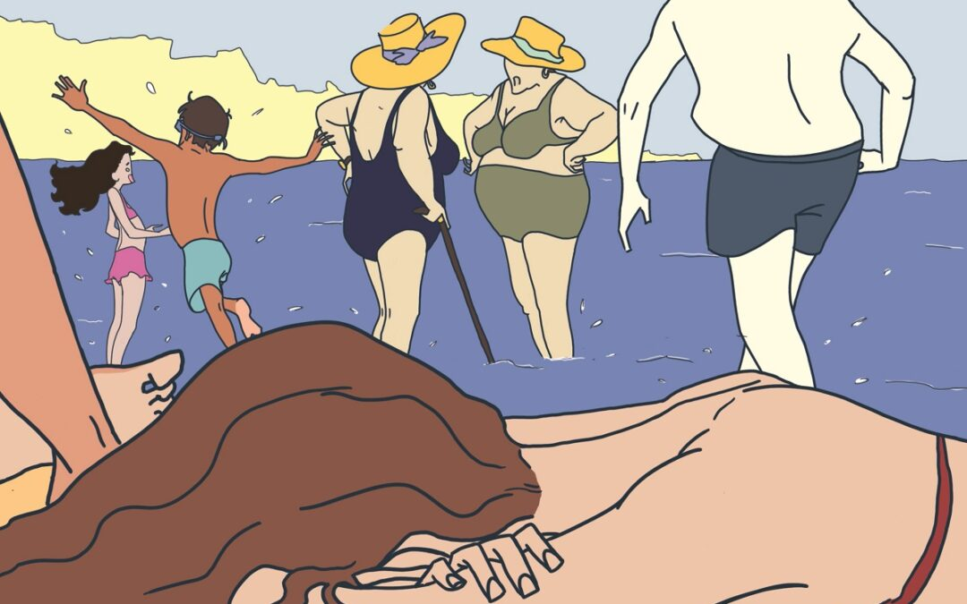 L'illustrazione di Francesca Sprovieri Cactus Verde che apre l'Inserto Estate 2020