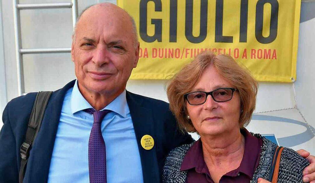Claudio Regeni e Paola Deffendi, i genitori di Giulio Regeni