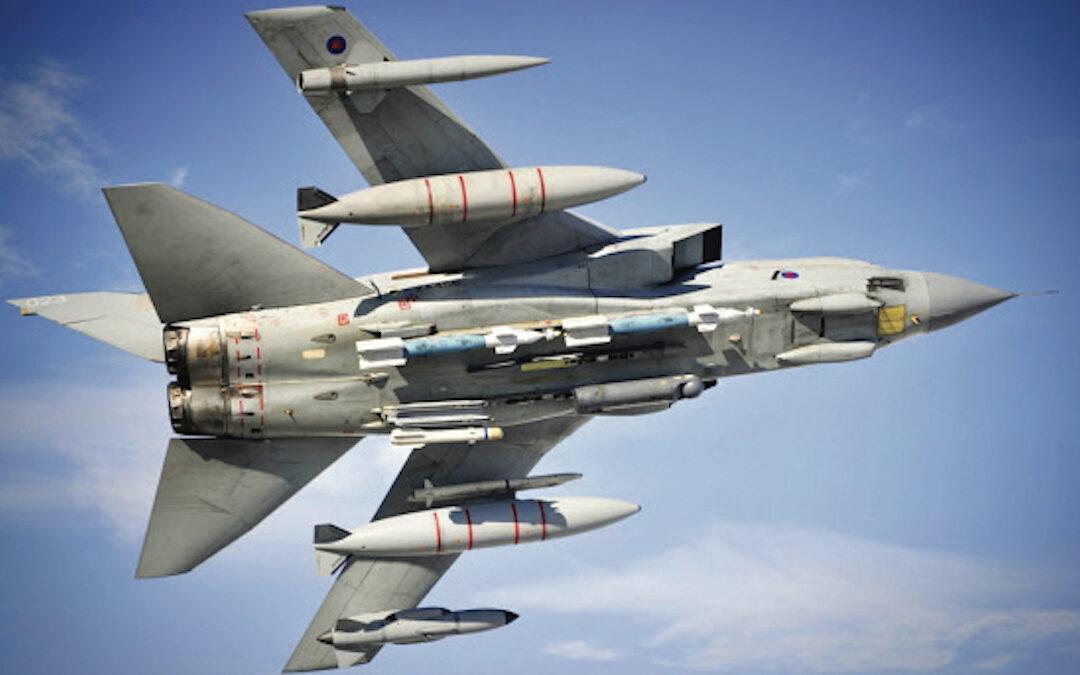 Il caccia bombardiere multiruolo Tornado