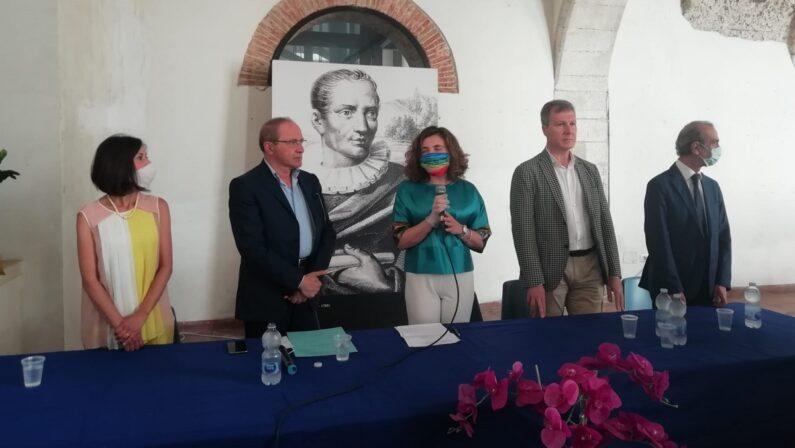 VIDEO - Il sottosegretario alla Cultura Orrico e il futuro del complesso di Santa Chiara di Cosenza