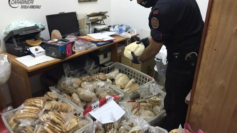 Pane venduto senza il rispetto delle norme, sequestri e sanzioni nel Cosentino