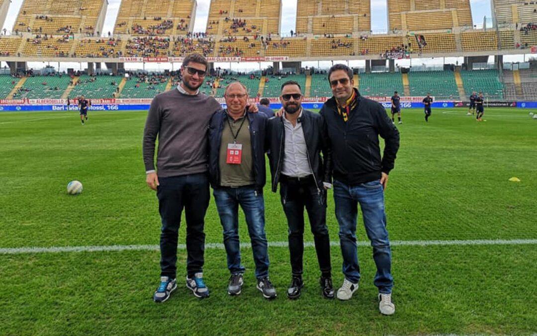Simone Lo Schiavo, Roberto Russo, Domenico Roma e Danilo Beccaria