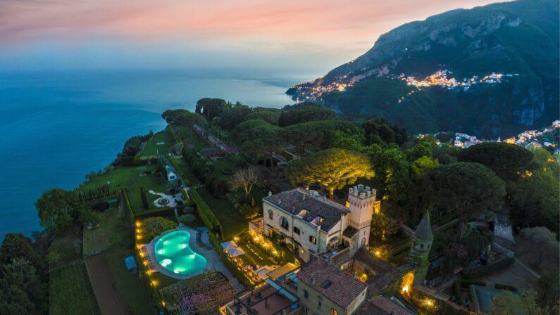 L'Italia delle eccellenze enogastronomiche riparte da Villa Cimbrone  a Ravello