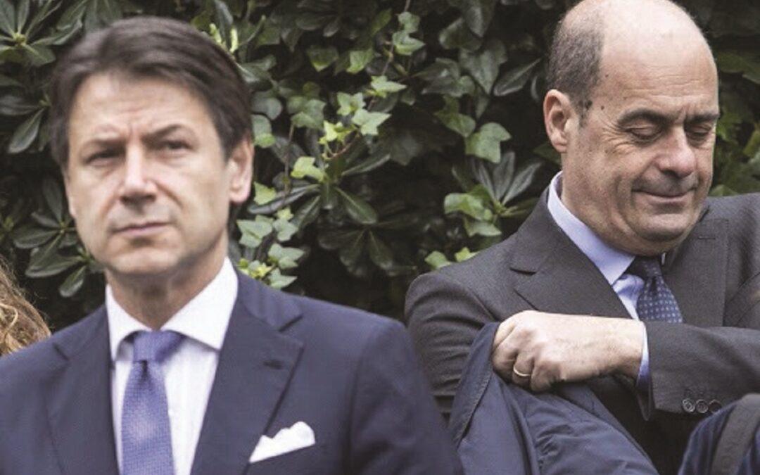 Giuseppe Conte e Nicola Zingaretti