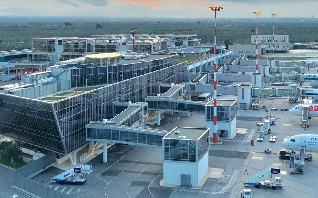 L'aeroporto di Bari Palese