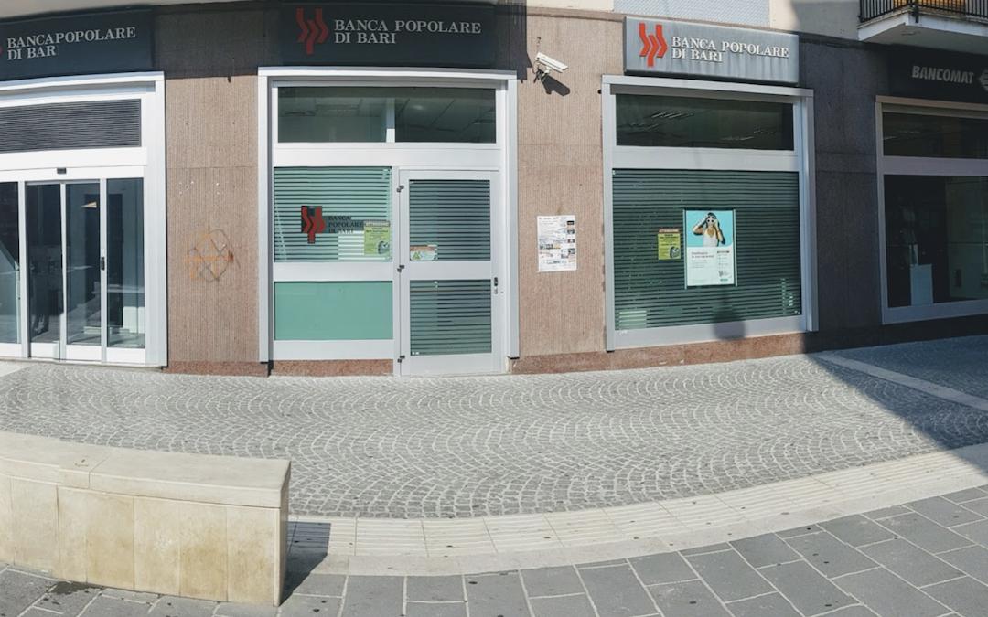 Cosenza, arrestato il presunto autore della tentata rapina alla Banca Popolare di Bari