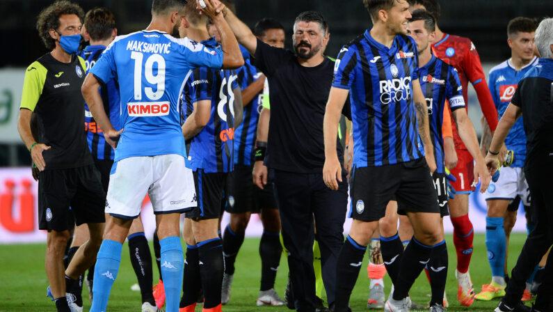 Zona Champions bersaglio mancato, ora Napolispera nel Nou Camp