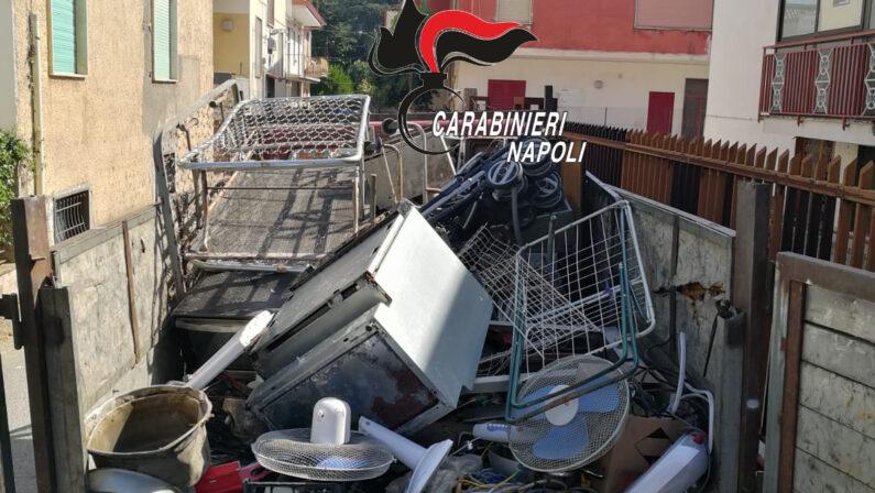 Carbonara di Nola: trasportano rifiuti speciali senza autorizzazione, due  denunce