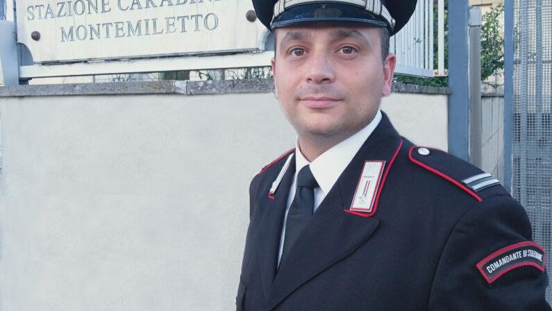 Il maresciallo ordinario Elvis Truglia è il nuovo Comandante della stazione dei Carabinieri di Montemiletto