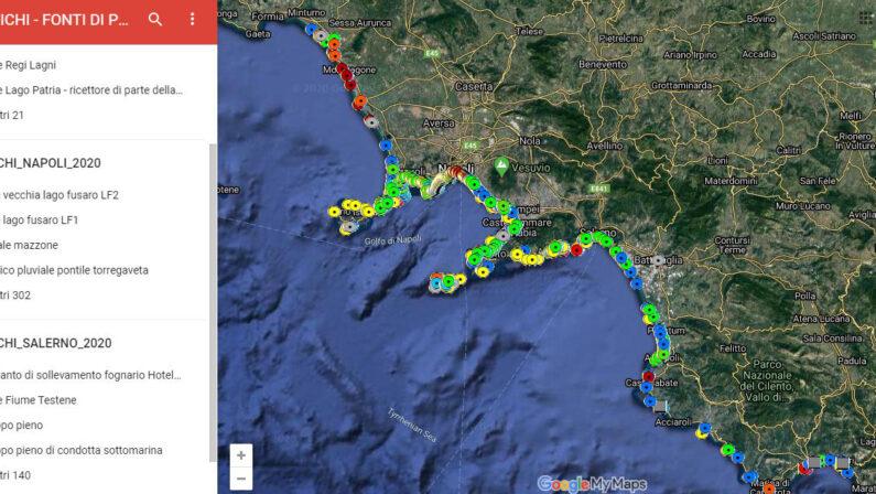 Arpac, pronto il censimento degli scarichi costieri in Campania