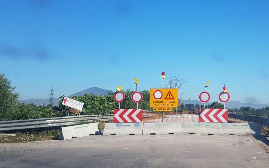 Coldiretti Caserta: ponti chiusi sul Volturno, appello al Presidente della Provincia per aiutare gli allevamenti bufalini