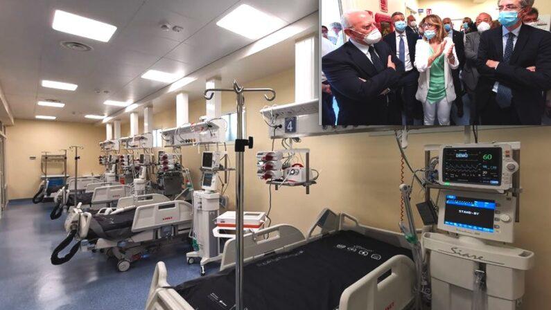 Sanità, attivati altri 8 posti di terapia intensiva presso  il policlinico Federico II di Napoli