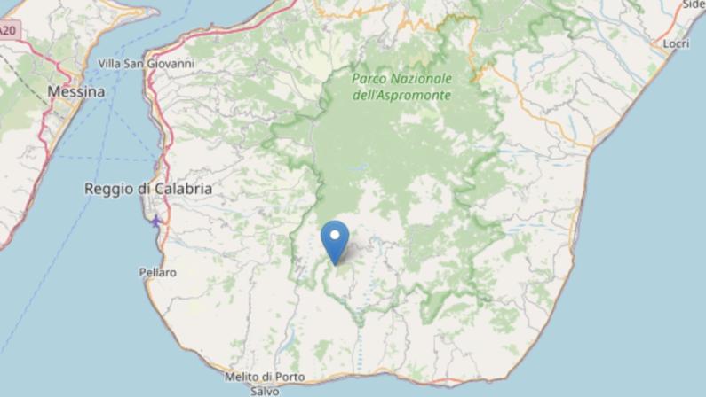 Terremoto, scossa di magnitudo 3.2 nel Reggino