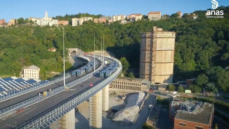 Nuovo Ponte di Genova, effettuato il collaudo statico che ha dato esito positivo