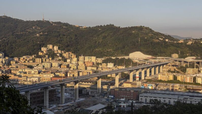 Ponte Genova, a 2 anni dal crollo inaugurazione con Mattarella e Conte
