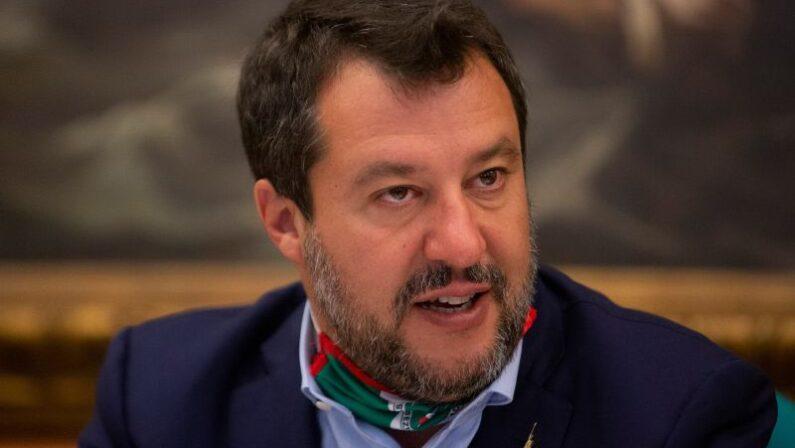 """Salvini """"Spero presto al voto, italiani meritano di più"""""""
