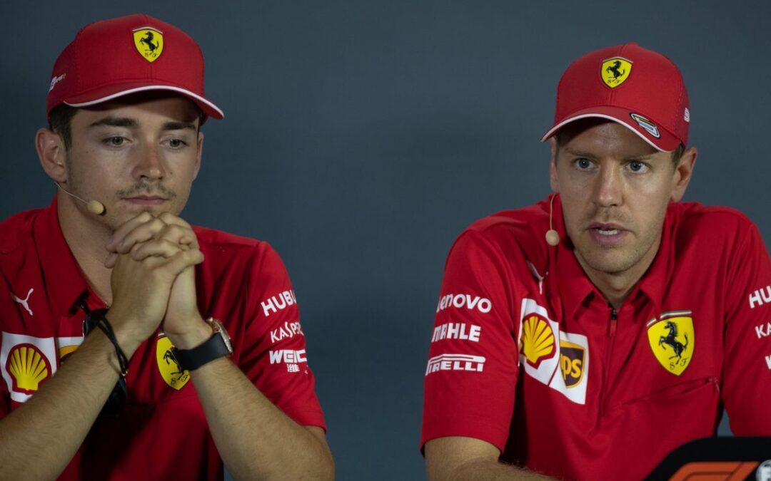 """F.1 a Silverstone, Vettel e Leclerc """"Abbiamo basi su cui lavorare"""""""