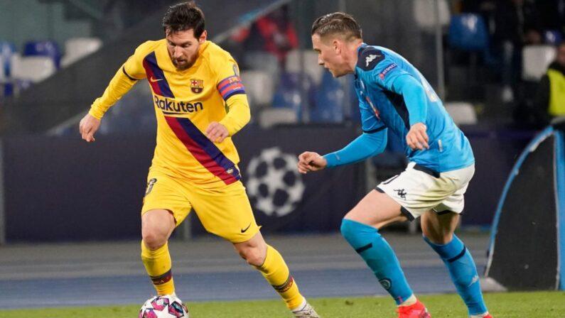 Show Messi, Napoli sconfitto e fuori dalla Champions