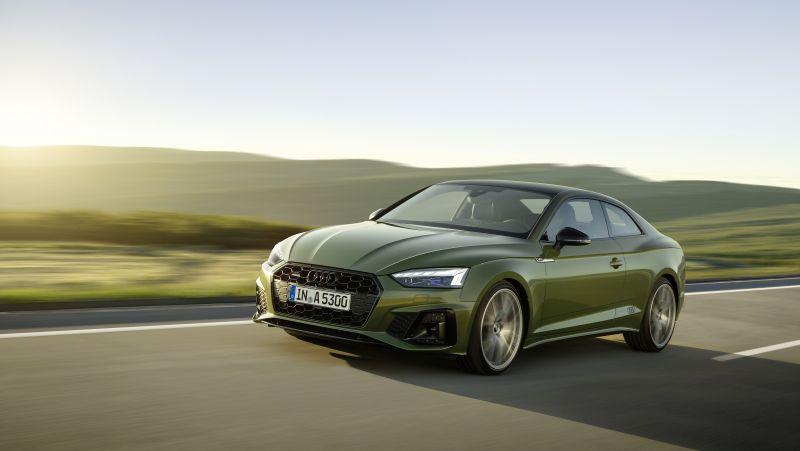 Nuovi motori e dotazioni per le gamma Audi A5