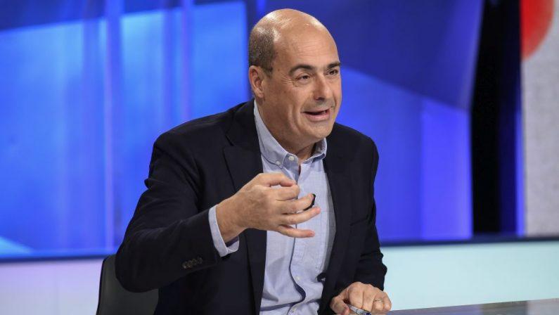 Regionali, Zingaretti: «Il Pd è la vera alternativa alle destre»