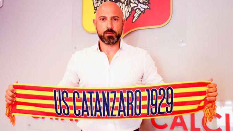 Calcio: il pugliese Antonio Calabro è il nuovo allenatore del Catanzaro