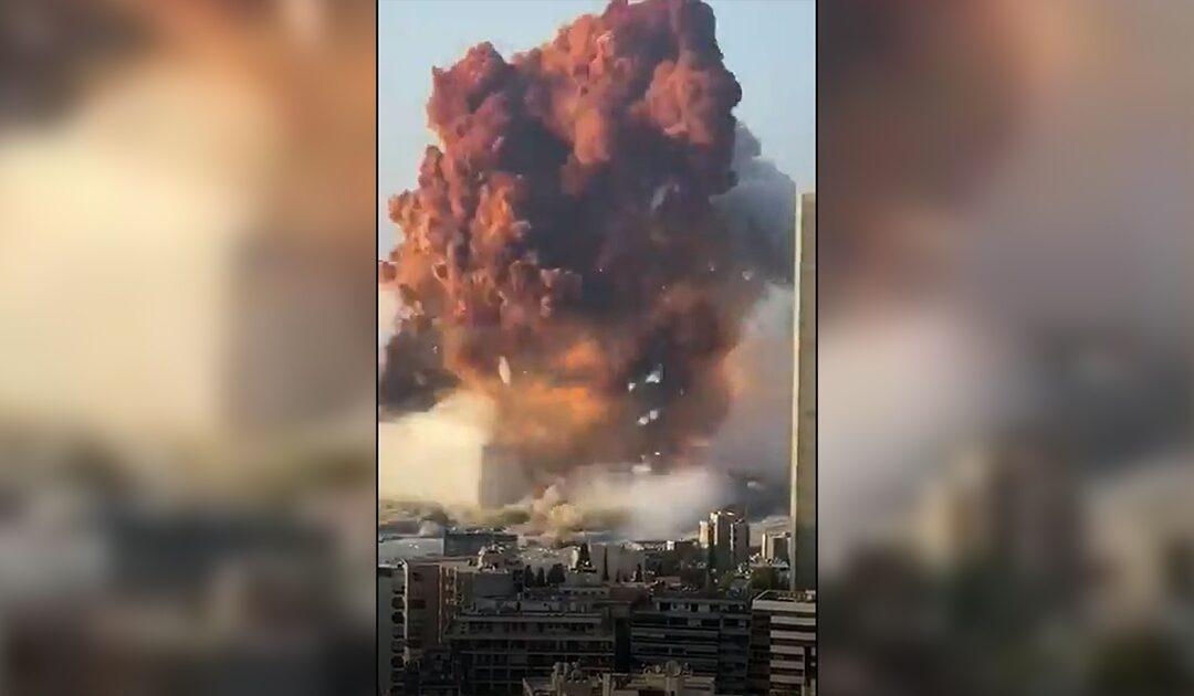 Violenta esplosione a Beirut, militare italiano tra centinaia feriti – il VIDEO scioccante dell'esplosione