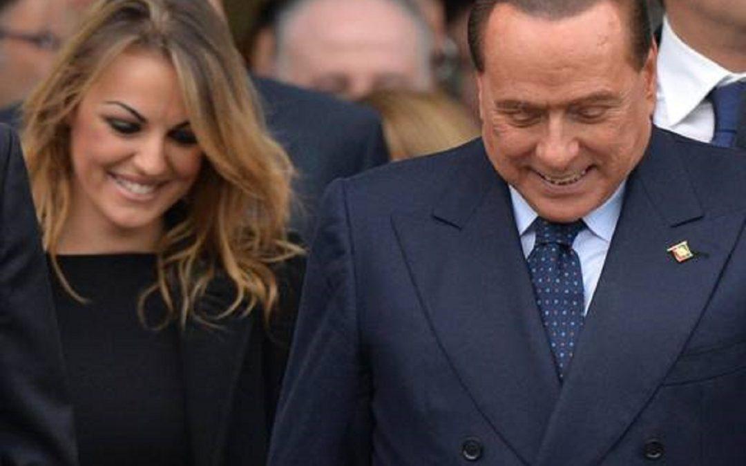 Francesca Pascale con Silvio Berlusconi