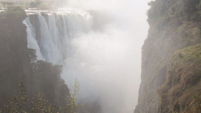 Le Cascate Victoria dove il fumo tuona