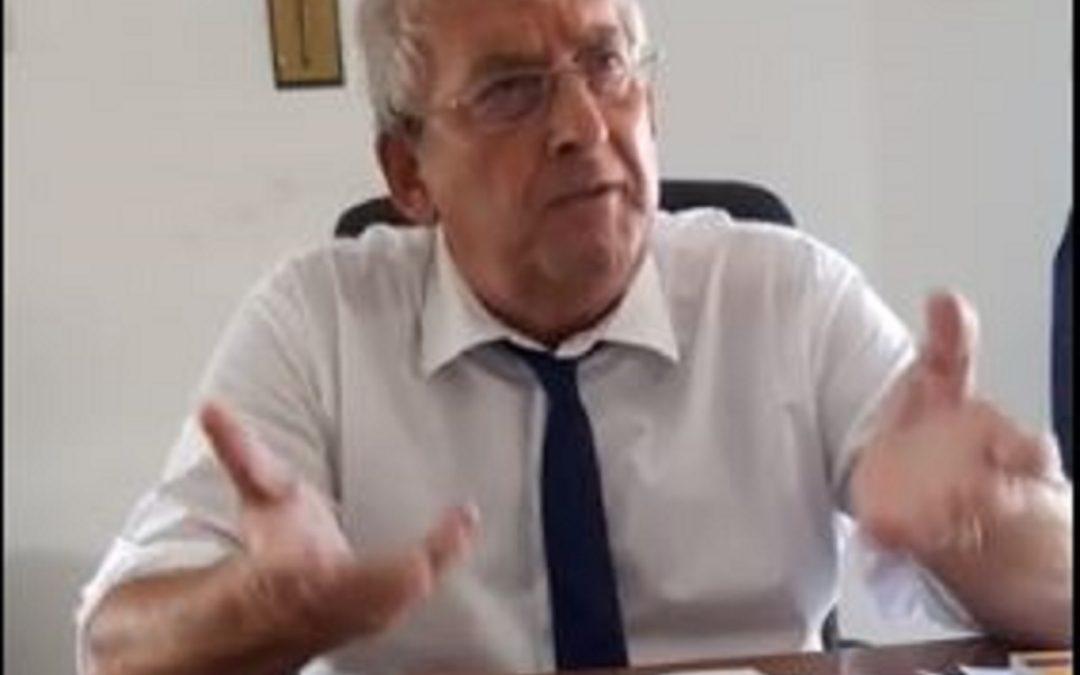 Ernesto Magorno, sindaco di Diamante e senatore di Italia Viva