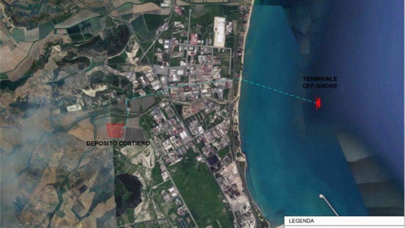 Un rigassificatore in Calabria, unico impianto in tutto il Sud e strategico per il Mediterraneo