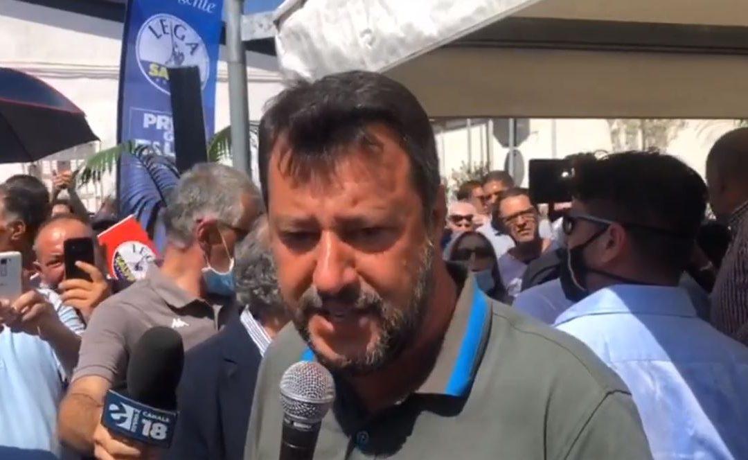 Matteo Salvini a Crotone