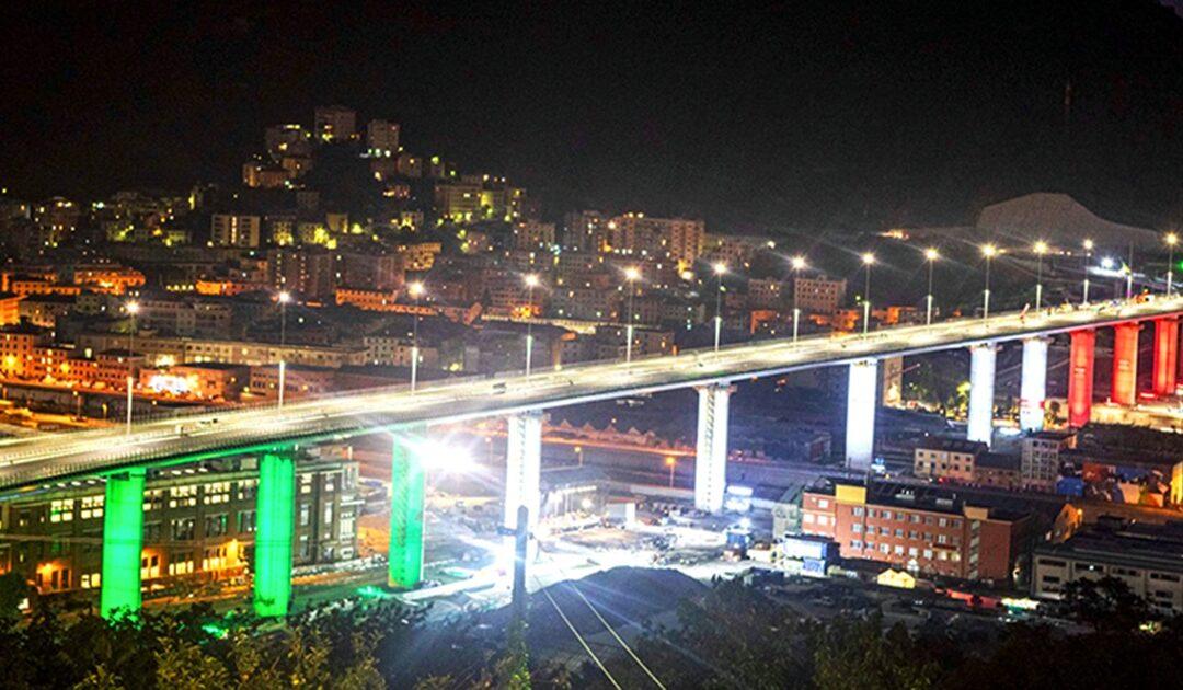Il Ponte San Giorgio di Genova