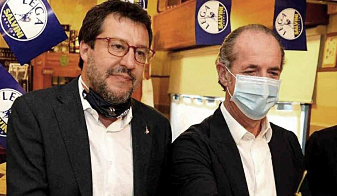 Luca Zaia e Matteo Salvini