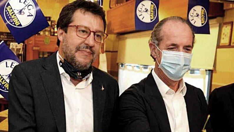 Zaia toglie il sonno a Salvini: la sua lista doppia (due volte) la Lega