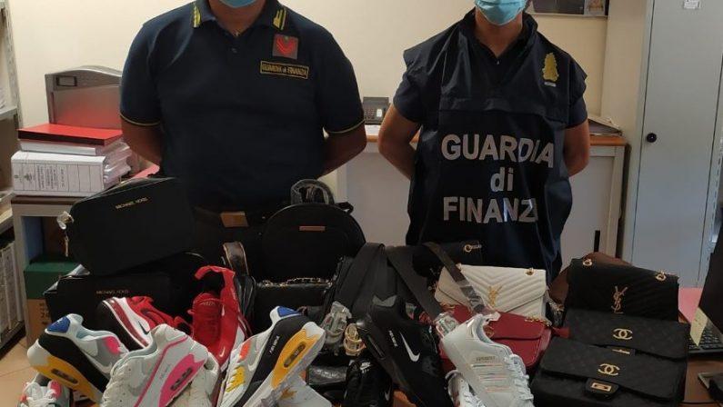 Contraffazione, mille prodotti sequestrati nel Catanzarese durante i controlli in estate