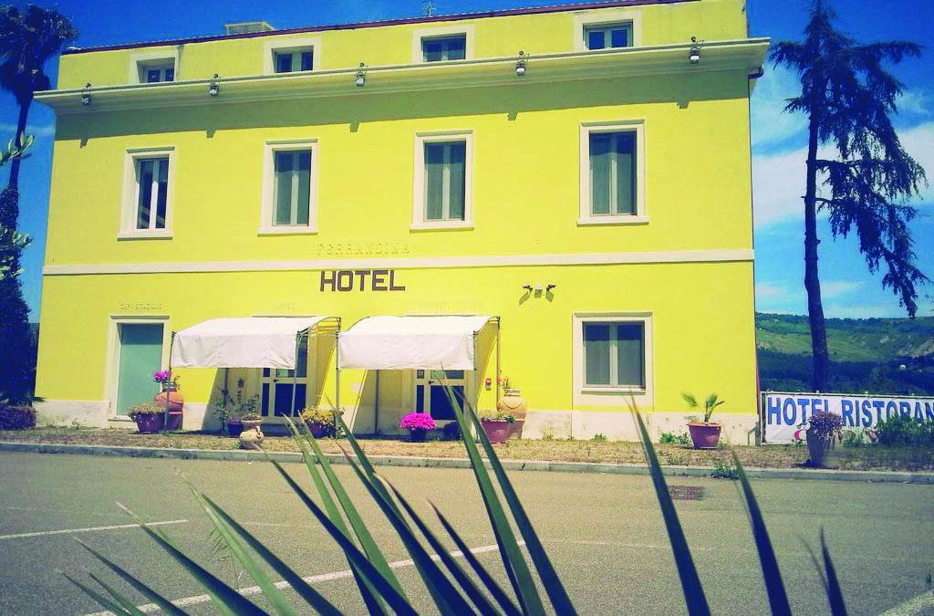 L'ex hotel Old West di Ferrandina, convertito da anni in centro di accoglienza