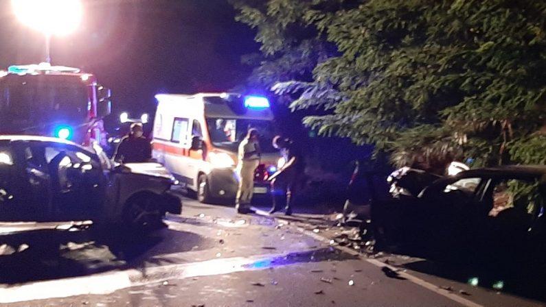 Incidente stradale sulla statale 18 nel Cosentino, grave un bambino