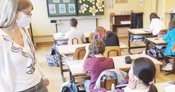 L'11 gennaio di nuovo in classe