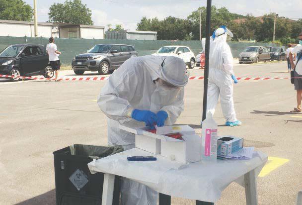 Coronavirus, ancora 106 positivi in Campania