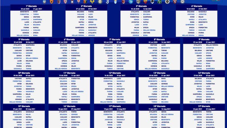 Serie A, la Juventus parte contro la Samp, tanti big match arriveranno nel finale