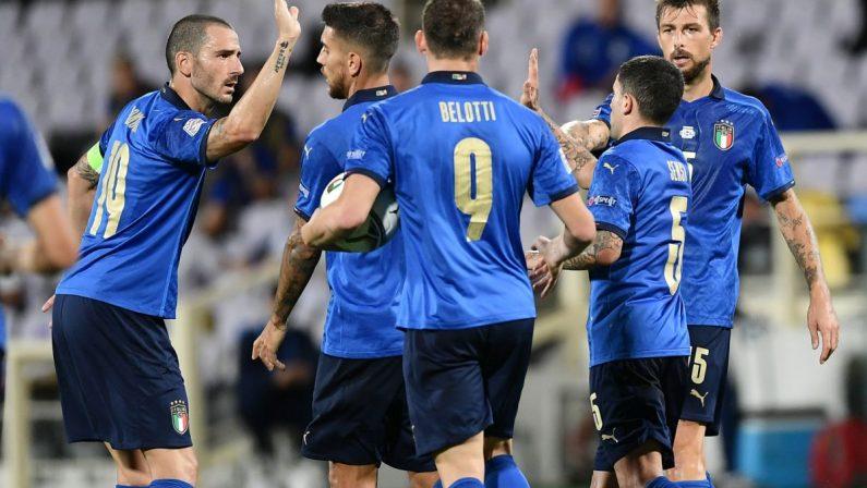 L'Italia pareggia 1-1 contro la Bosnia in Nations League