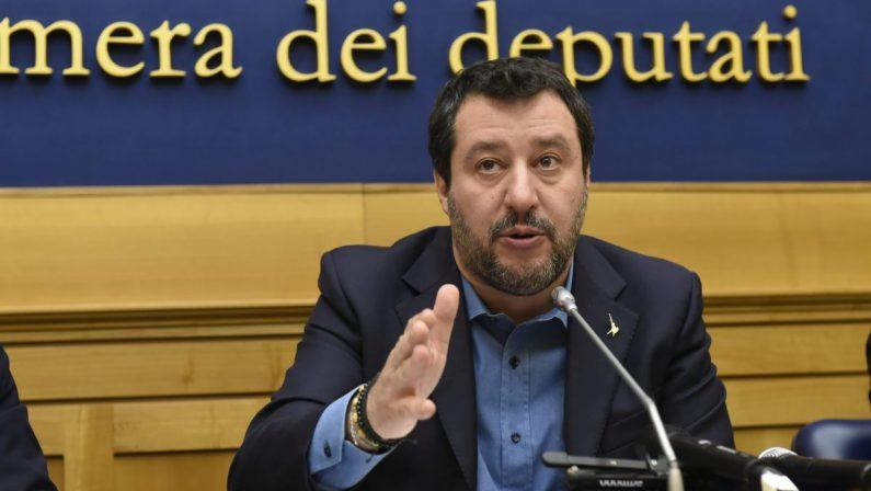 """'Ndrangheta: Salvini """"scarica"""" Tallini e il Pd insorge. I 5 Stelle: «La politica rinnovi»"""