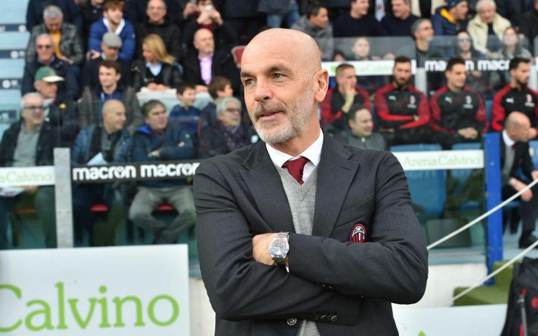 """Pioli """"Poco tempo, ma il Milan è pronto per l'Europa League"""""""