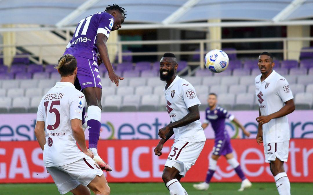 Seria A, la Fiorentina batte il Torino 1-0, decide Castrovilli