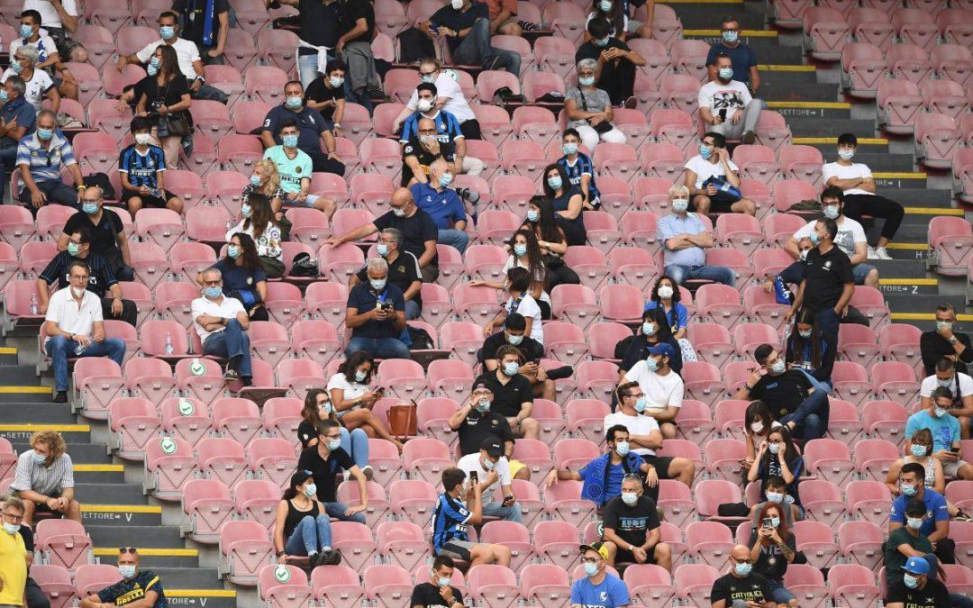 Accordo Governo-Regioni: mille spettatori per le partite di Serie A