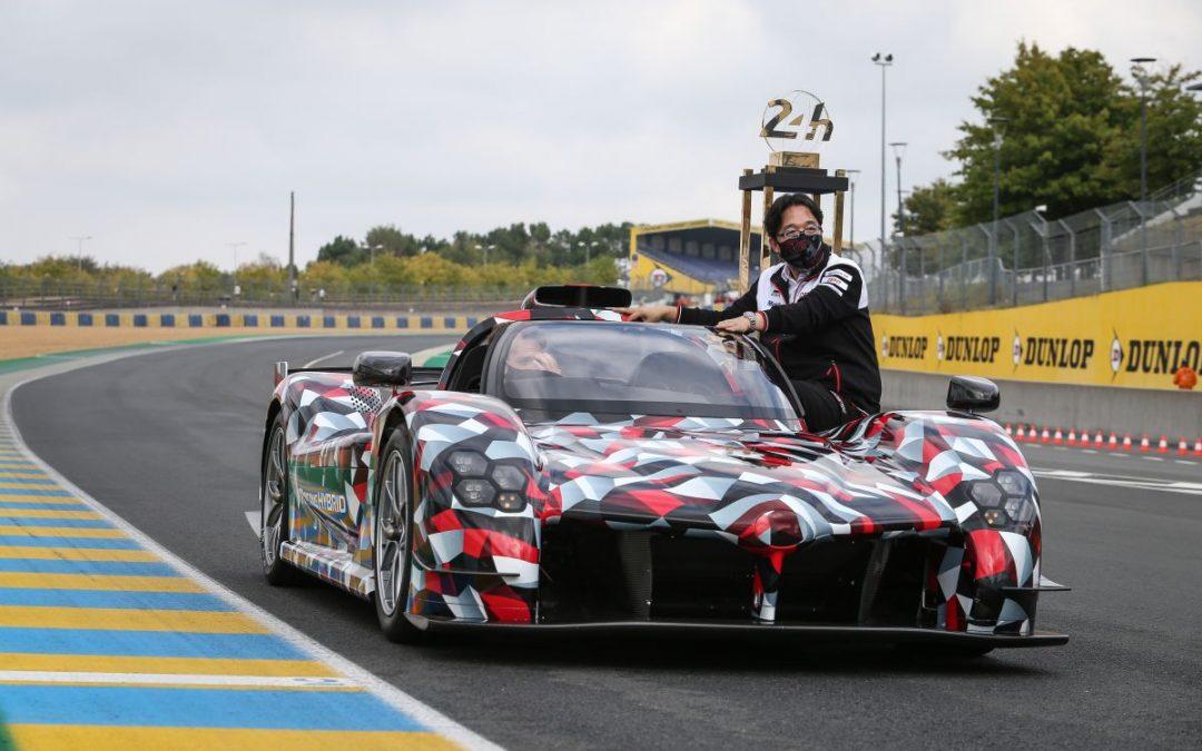 Toyota mostra a Le Mans la Hypercar GR Super Sport