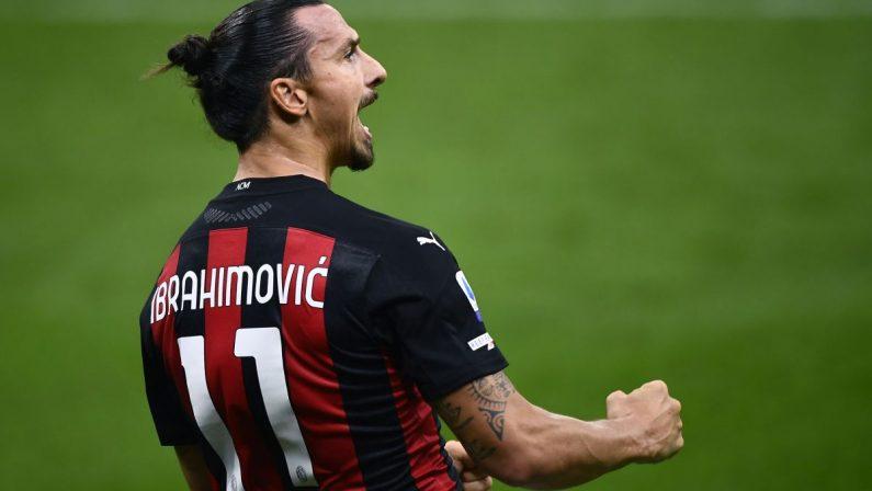Doppietta Ibrahimovic, esordio vincente del Milan con il Bologna