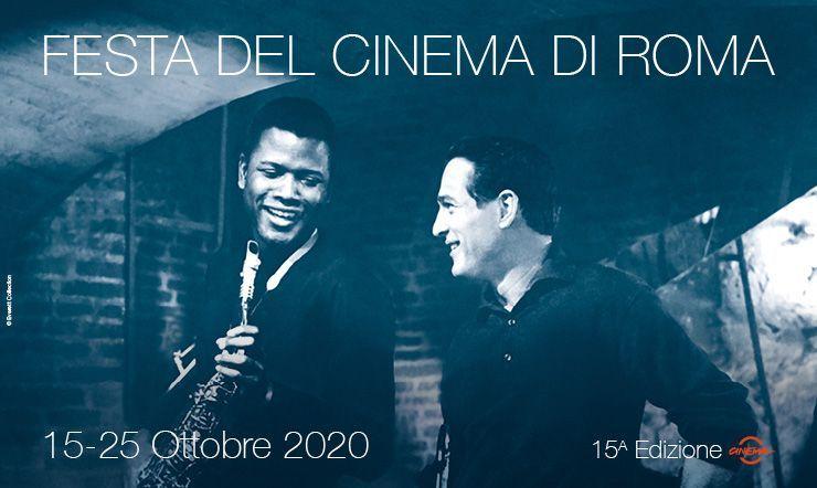 Festa del cinema, Poitier e Newman protagonisti dell'immagine ufficiale