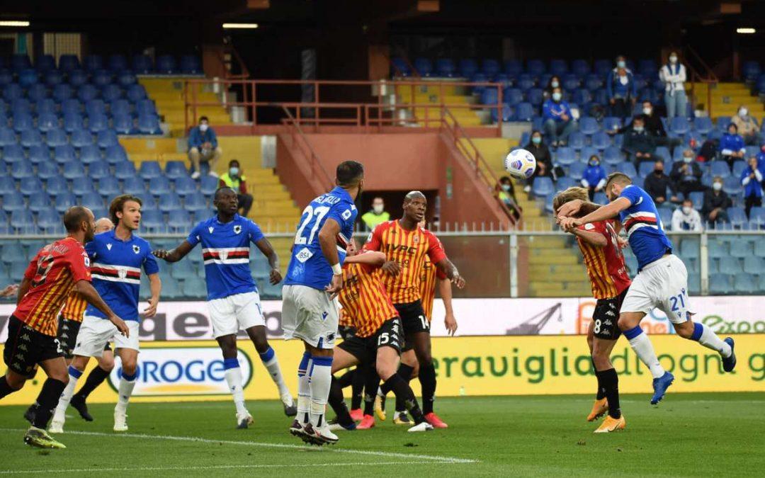 Il Benevento passa a Marassi: Samp ribaltata da 0-2 a 3-2