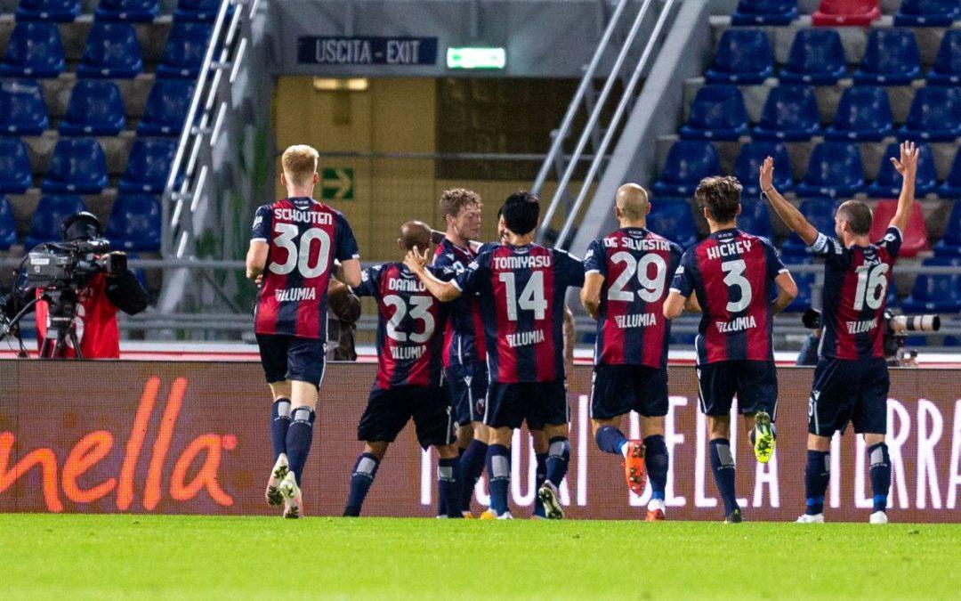 Nel posticipo di Serie A il Bologna si impone 4-1 sul Parma